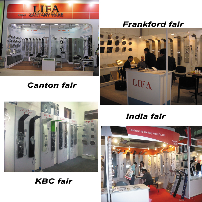 LIFA SANITARY in different Exhibitions
