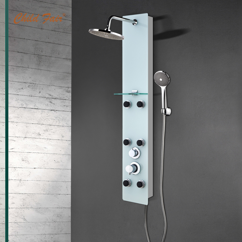 Safety Tempered Glass Shower Panel CF6226