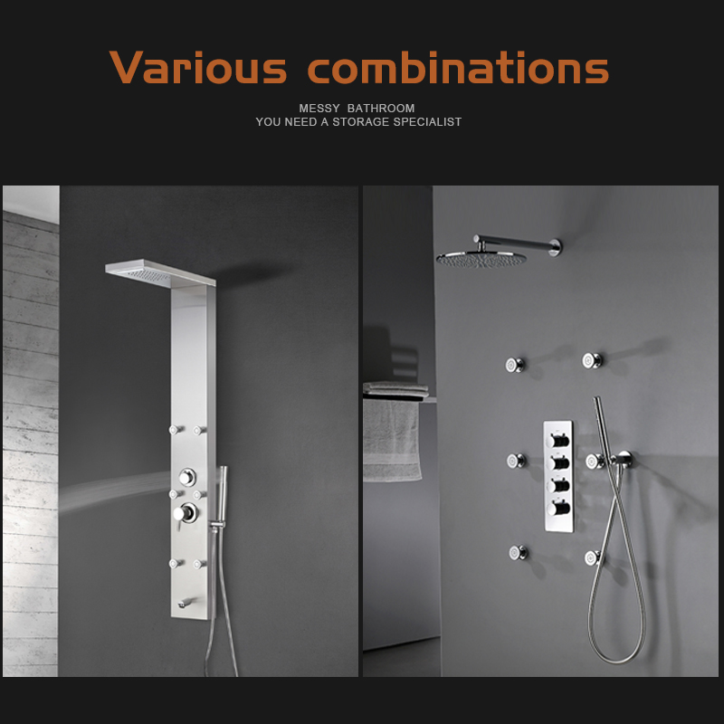 Shower Panel Accessories Series